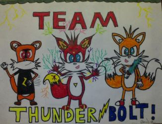 Introducing Team Thunderbolt! by tails4evr
