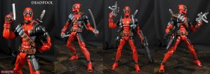 Deadpool Marvel Legends custom action figure by Jin-Saotome