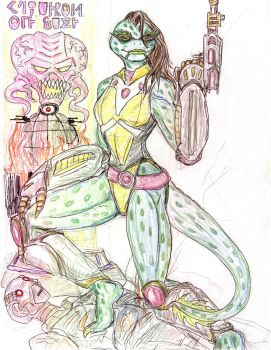 TMNT redesign Mona Lisa by theaven