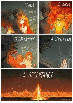 5 Stages of Grief by Picolo-kun