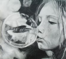 Blowing Bubbles by Turquoise-Tangerine