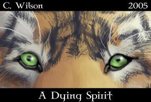 A Dying Spirit - The Tiger by WindSeeker