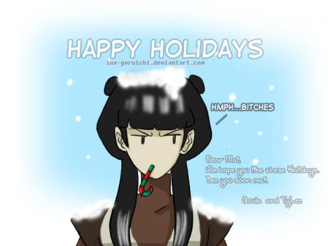 Happy Holidays Mai by Lux-Yoruichi