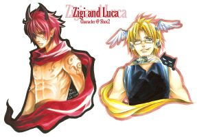 RL Commission_Zigi and Luca by Ecthelian