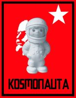 i love kosmonauta word by betina