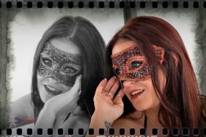 Masked Beauty by wbgphotography