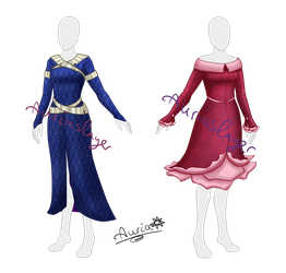[Closed] Adoptable winter coats by Aurialudzic