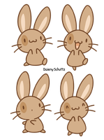 Brown Bunny by Daieny