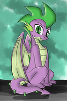 Spike The Dragon by EMositeCC