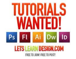 Tutorials and Members Wanted! LetsLearnDesign.com by ShindaTravis