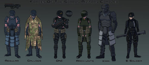 Commission: Sharon Military Complex by goeliath