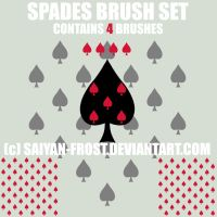 Spades Brushes Photoshop by Tundra-Sky