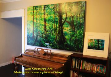 Jungle light II installed at new owner's place by Jan-Kasparec