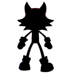 Sonic Forces Third Playable Character Silhouette by Nibroc-Rock