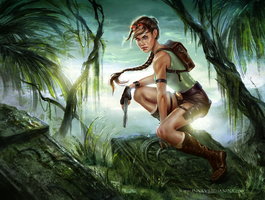 Tomb Raider: 20 Years of an Icon by Inna-Vjuzhanina