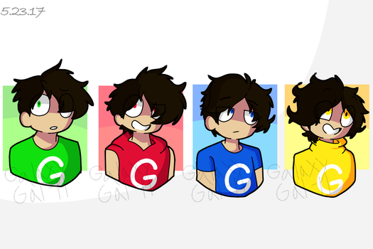Google IRL- Now with Multiple Colors by GalaxyGal-11