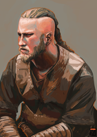 Vikings - Ragnar by FionaCreates