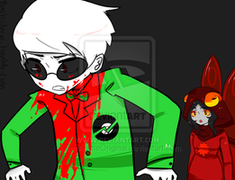 Homestuck panel redraw by EmiAnimeOriginal