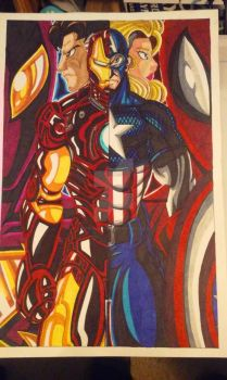 Civil War: Which side are you on? by d13mon-studios