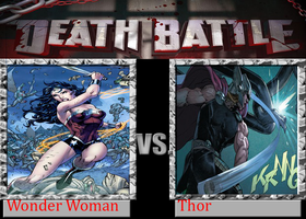 Wonder Woman (New 52) vs Thor (Marvel NOW) by TheWickedAvatar1