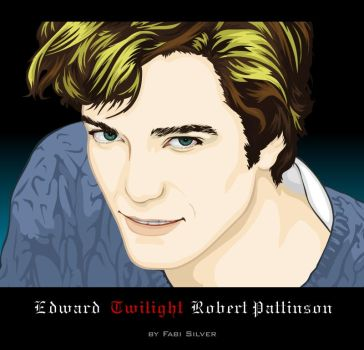 Robert Pattinson by studiocartoon