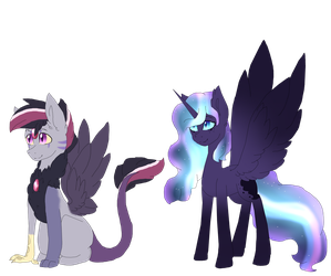 Customs for BluethornWolf by DreamCloudAdopts