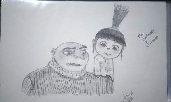 Despicable Me by AnneWest1809