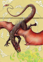 Smaug - The Hobbit by Zellgarm