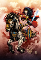 Wonder Woman Colors by MARCIOABREU7