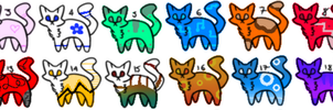 Adoptables5 [ 18/20 OPEN ] 3 POINTS EACH by Fishy101-Adopts