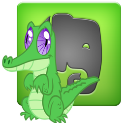 Gummy Evernote icon by tauts05