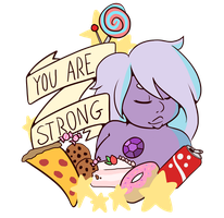 You Are Strong by Clovie31