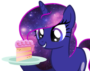 Want some sparkly strawberry cake? by Duyguusss