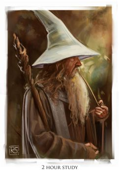 Gandalf Study by RileyStark