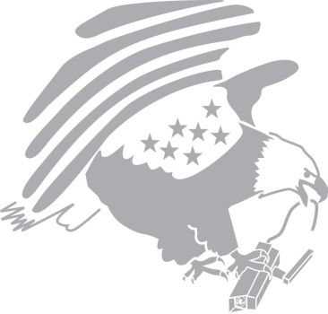 Eagle stencil 1 by JFeathersmith