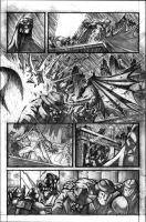 Batman vs Predator pg2 by VASS-comics