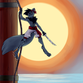 Pirate Xweetok by AnimeVSReality