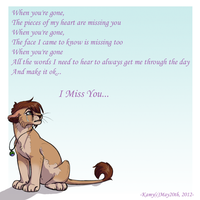 When You're Gone by Kamis-Cafe