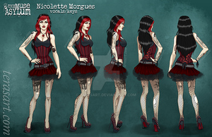 Nicolette Morgues - Turnaround by TeraSArt