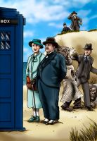 Hercule Poirot And the Mystery of the Blue Box by Loneanimator