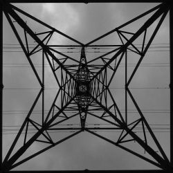 Pylon in Grey by GMCPhotographics