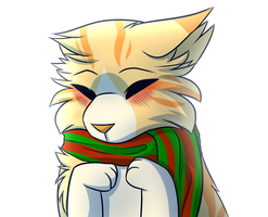Christmas Scarf by flash-the-artist