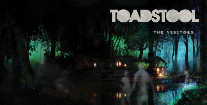 Toadstool - The Visitors EP|Album Cover by N-Deed