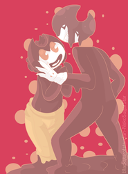 Bendy x Sammie by NekoSugarStar