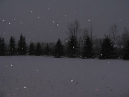 Snowy Night 01 -STOCK- by the-suns-moon