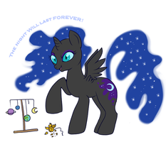 The Night Will Last FOREVER by lulubellct