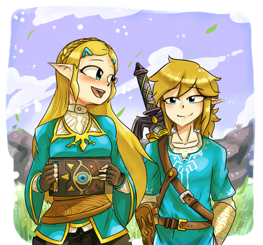 Rebuilding Hyrule together. by Bluechui