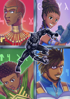 Black Panther by Jeffanime