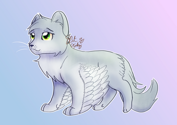 Literal Warriors AU- Dovewing by 8BitGalaxy