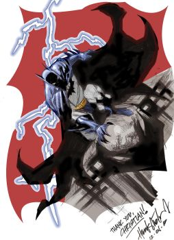 Batman by Heubert Khan Michael by GraphicNaitsirch